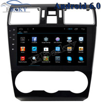 1024*600 9inch Quad Core Android 6.0 Car Radio player for Subaru Forester XV 2015- Bluetooth 16GB Nand Flash 3G Wifi Mirror Link
