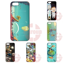 For Apple iPhone 4 4S 5 5C SE 6 6S 7 7S Plus 4.7 5.5 iPod Touch 4 5 6 Cases Capa Cover Rick And Morty Fan Art