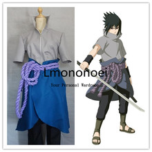 Lmononoei Naruto sasuke Cosplay Costume(China)