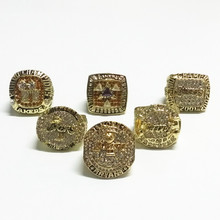 Size 9 to 13! 6pcs/set 2000 2001 2002 2009 2010 2016 Los Angeles Lakers basketball championship rings replica drop shipping