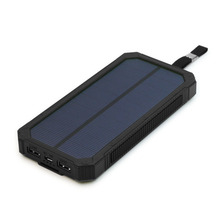 15000mah Portable Solar External Battery Black Green Orange Power Bank for iPhone Samsung ipad YOGA Tab GPS and More