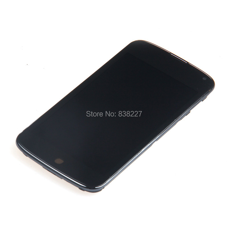 Replacement For LG Nexus 4 E960 LCD screen With Frame LCD Display Touch Digitizer Screen Assembly Free shipping<br><br>Aliexpress