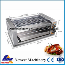 Electric bbq grill with NT-808 model stainless steel,soccer barbecue mini electric bbq grills,most popular bbq grilling machine