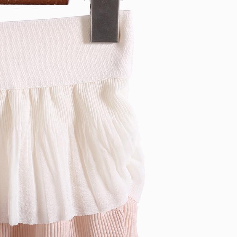 Sweet Spring Summer Young Fashion Long Layers Gee Women Chiffon HWE29DIY