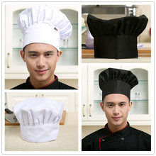 Hotel Restaurant Chef White Cap Kitchen Work Accessories Cake Shop Workwear Cap Men and Women Chef Hat Health White Cloth Hat(China)
