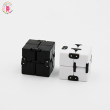 Buy Infinite Cube Fidget Infinity Cube Plastic Creative Magic Cubes Office Flip Cubic Puzzle Anti Stress Relax Toys children for $2.41 in AliExpress store