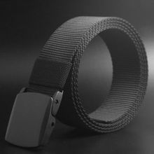 Men Fashion Belts Outdoor Sports Military Tactical Nylon Waistband Canvas Web Belt Hot Sale(China)