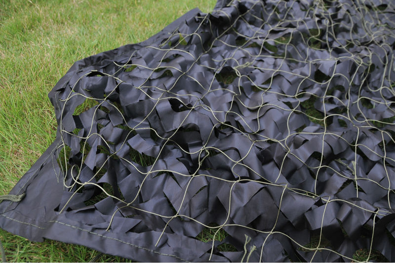 Sunshade netting camo fabric black army netting hunting camouflage net camo cover netting5*5M(197in*197in)<br><br>Aliexpress