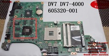 Replacement Laptop Motherboard For HP DV7T DV7 DV7-4000 SERIES MOTHERBOARD DA0LX6MB6H1 - 605320-001(China)