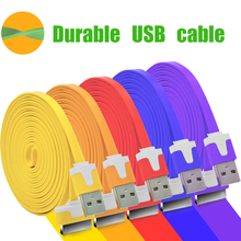1/2/3m Long noodles 30 pin power charger charging date transmit sync line rope wire cord cable for iPhone 3 4 4G 4 4S iPad 2 3