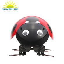 Robot Ladybug Toys Educational Funny Electronic Pet Bionic Insect Toy Wireless Remote Control RC Cars Vehicles Racing Car(China)