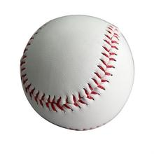"1 9 inch exercise training handmade baseball practice standard 9 ""new white soft leather Cork Center baseball softball team game"