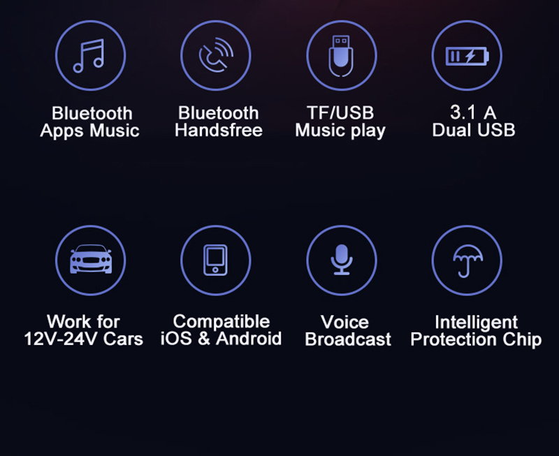 E4891 B9 Bluetooth Car FM modulator (1)