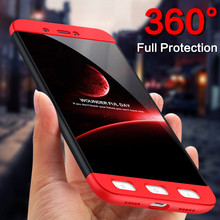 360 Degree Cover Phone Cases For Xiaomi Redmi 4X Case Full Body Case Phone Luxury Protective Cases For Redmi 4X Protect Shell(China)