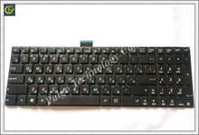 Russian RU Keyboard for ASUS X554L X554LA X554LD X554LI X554LJ X554LN X554LP X554 BLACK(China)