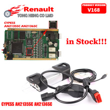 CYPRESS AN2135SC AN2136SC Chip!!! Quality A++ for Renault Can Clip V168 Diagnostic Tool for Renault