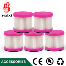 Buy High Efficient Red 5pcs HEPA Filter + 1pcs Filter Casing Cleaning Home D-602 D-602A D-607 D-609 Vacuum Cleaner for $9.66 in AliExpress store