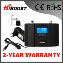 Hiboost Newest LCD WCDMA 2100mhz UMTS2100 3G 23dBm Wideband Consumer GSM Repeater Telecom Mobile Signal Booster Hi23-3G
