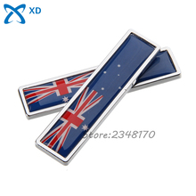 2 Pcs Car Styling Decal Flag of Australia Side Door Sticker For Benz Honda Toyota Nissan BMW Audi Dodge Renault Ford Jeep