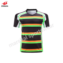 100% polyester rugby League subliamtion custom whole rugby jersey personalized custom printed Training suit futebol american(China)