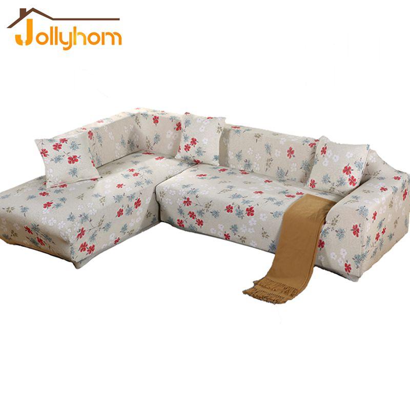 Image 2016 HOT Sale Flower Printing style Sofa Cover Elasticity flexible Anti dirty Slipcover Sitting Room Funiture Cover  27Colors