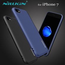 Nillkin for iPhone 7 Case Nilkin ETON Hard PC Plastic + Soft TPU Phone Back Cover Shell for Apple iPhone 7 with Retail Package(China)
