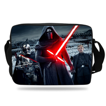 Cool Star Wars Cartoon Shoulder Bag For Children School Single Messenger Bag For Kids Girls Boys Shoulder Messenger Bag Teenager