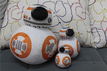 The Force Awakens BB8 BB-8 Droid Robot Plush Toys Soft Stuffed Dolls 10cm/20cm/30cm