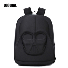 Loodial School Bags Darth Vader Backpack Star Wars Bag Teenage Backpacks for Girls High Capacity Travel Storage Bag Women Purse