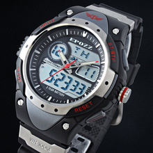 EPOZZ Silicone digital sport watch For men Shock resistant watch LED Electronic watch child Waterproof 100m  3002