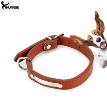 Pet Collars Dog Collar Buckle Candy Color PU Leather Collar Cat Studded Neck Strap Dogs Collar 4 Colors