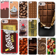 Lavaza chocolate Willy Wonka Bar With Golden Ticket Hard Case for Apple iPhone 7 7 Plus 6 6S Plus 5 5S SE 5C 4 4S Coque Shell(China)