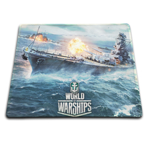 Game Pad World of Warships Speed Control Gaming Surface Mouse Pad Computer Notebook Mice Mat