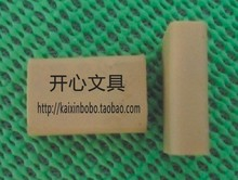 10pcs Kindergarten students practical prizes wholesale rubber eraser on a pencil drawing free shipping(China)
