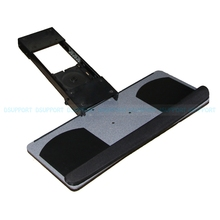 Ergonomic Sliding Tilting XL Size Wrist Rest Keyboard Holder with Two Mouse Pads for Computer Desk keyboard and mouse tray(China)