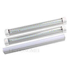 PVC Plastic 5W 10W LED Tube T8 Light 220V 240V 30cm LED Wall Lamp Cold White LED Fluorescent T5 Neon LED T5 lamp