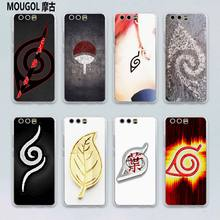 MOUGOL Naruto Konoha Logo Leaf Village design transparent hard case cover for Huawei P10 P9 Plus P8 P9 lite Mate S 9 8(China)