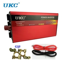 UKC Peak Power 3000W Inverter Converter DC 12V/24V To AC 220V 50HZ 3000W Modified Sine Wave DC/AC Inverter Converter