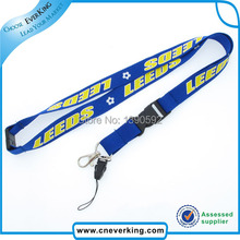 Free shipping 100 pcs/lot Custom phone neck lanyard mobile key chain strap