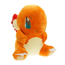 30cm Japanese Cartoon Charmander Plush Toy Red Dragon Plush Toys For Girls Gifts