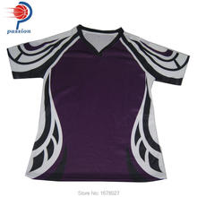 Wholsale sports rugby uniforms OEM service cheap rugby jerseys(China)