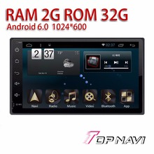 Car Multimedia for Toyota fortuner 2016 9'' Android 6.0 WANUSUAL Automotive PC Players with Free Rear View Camera Quad Core GPS