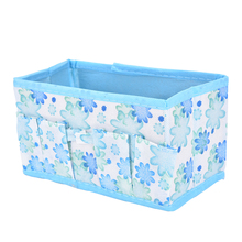 Large Capacity Foldable Multifunction Make Up Cosmetics Storage Box Container Bag Dresser Desktop Cosmetic Makeup Organizer