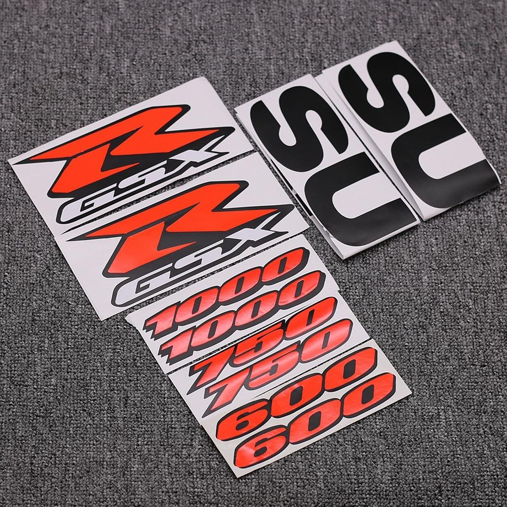 GSXR 600 2002 decals stickers graphics kit set k2 labels autocollant aufkleber