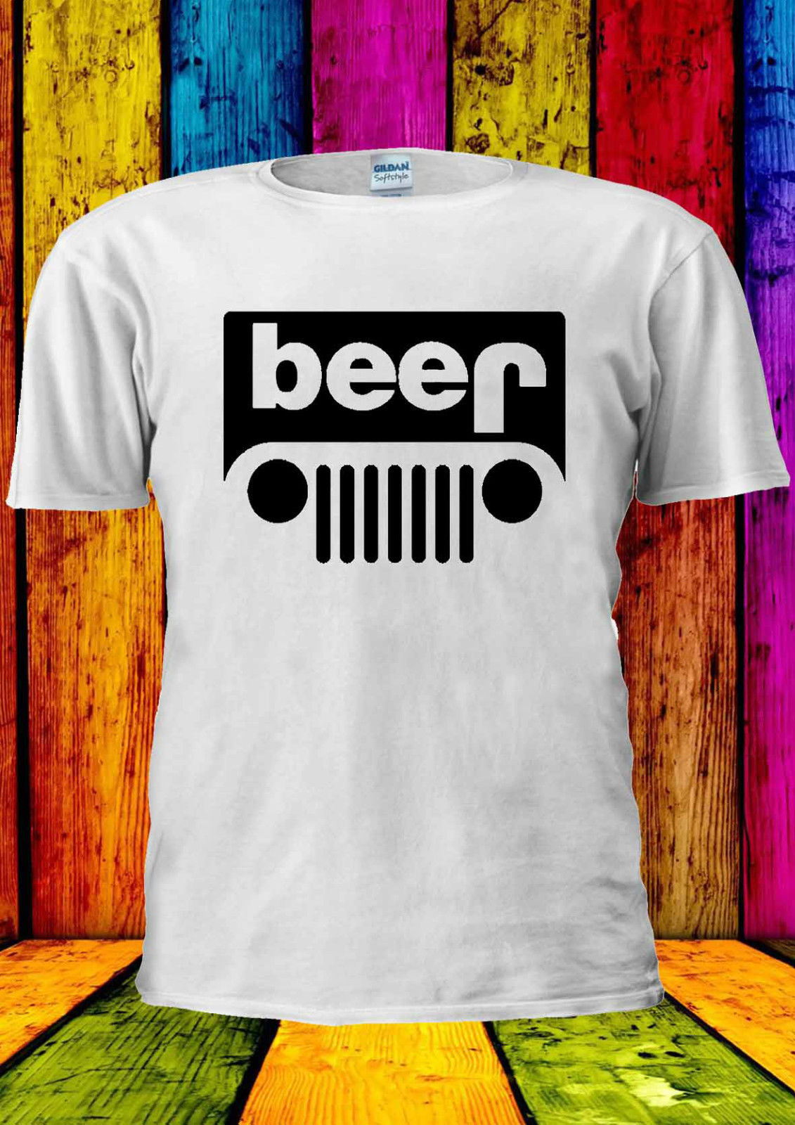 New beer tank top men women couple casual loose vest sleeveless shirt US size