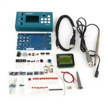 Digital Storage Oscilloscope DIY Kit Disassembled Parts with LCD 20MHz Probe Teaching Set Frequency Meter