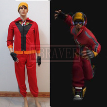 Lol Lee Sin SKT T1 the Blind Monk Cosplay Costume full set Custom Any Size(China)