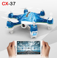Cheerson CX-37 Smart-H RC Drone Helicopter With Camera 0.3MP WiFi FPV Phone Control Photo Shooting Real Time Video Transmission