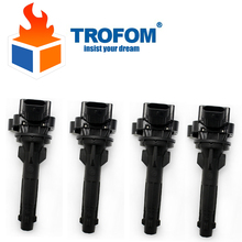 4Pcs Auto Ignition Coil For TOYOTA Avensis COROLLA Aygo Celica Corolla RAV4 Yaris 1.0 1.4 1.6 1.8 16V 90080-19017 0221504020