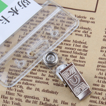 50 Pieces Badge Holder Metal Clips School Business Hospital Company Supplies ID Card Holder Accessories Stationery Papelaria